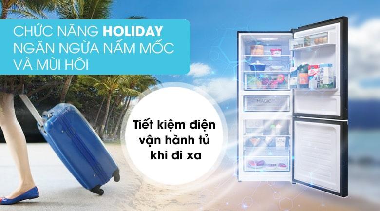 chức năng holiday ngăn ngừa nấm mốc và mùi hôi