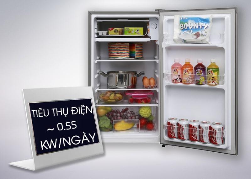 Tủ lạnh Electrolux EUM0500SA/SB tiết kiệm điện năng