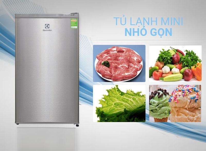 Tủ lạnh Electrolux EUM0900SA thiết kế nhỏ gọn
