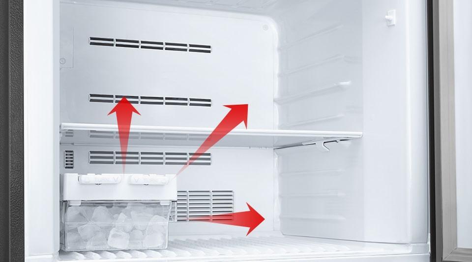 Tủ Lạnh Mitsubishi Electric MR-FX47EN-GBK-V khay đá di động tiện lợi