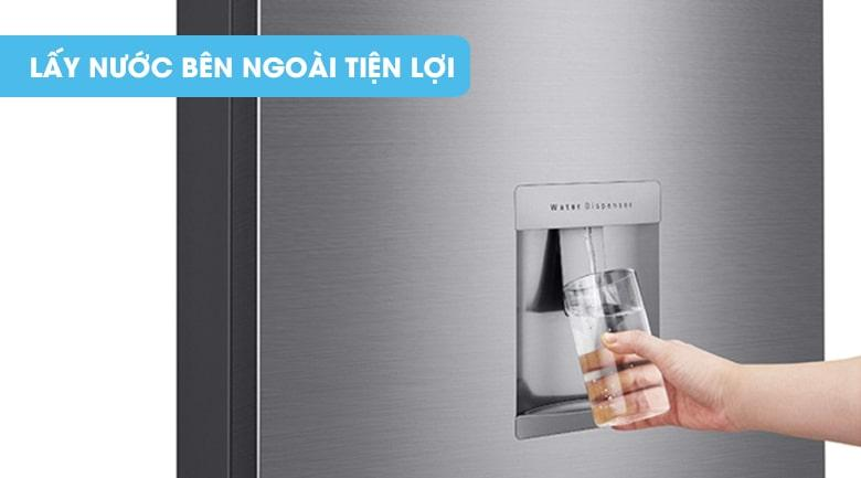 Tủ lạnh LG GN-D315PS lấy nước bên ngoài tiện lợi
