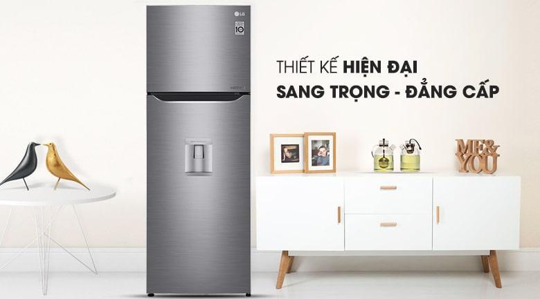 Tủ lạnh LG GN-D315PS thiết kế sang trọng-đẳng cấp