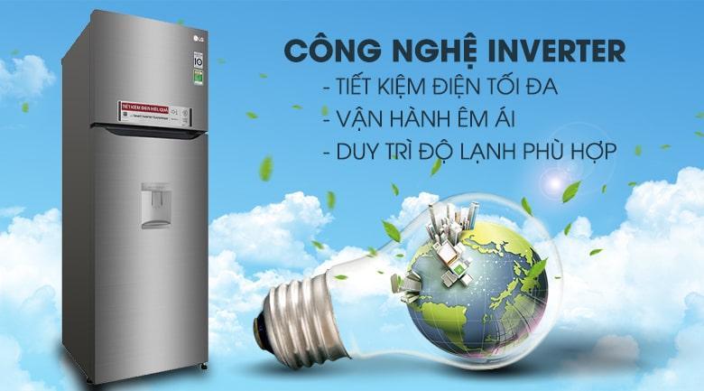 công nghệ inverter tiết kiệm điện tối đa,vận hành êm ái