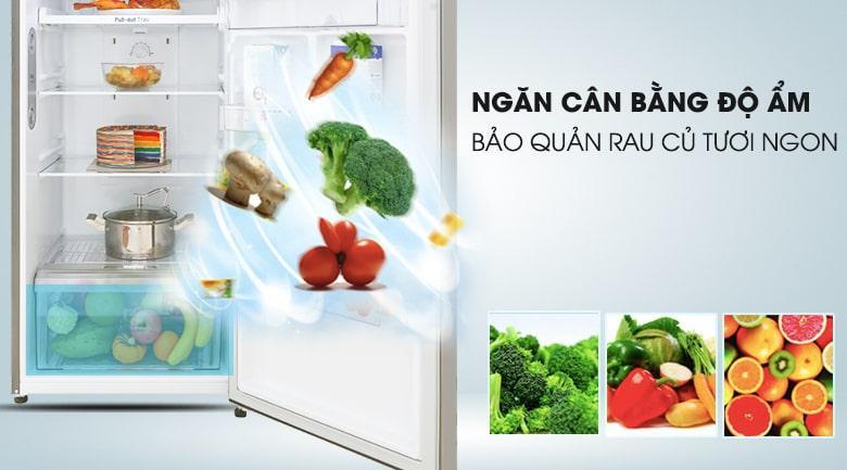 ngăn cân băng độ ẩm bảo quản rau củ tươi ngon