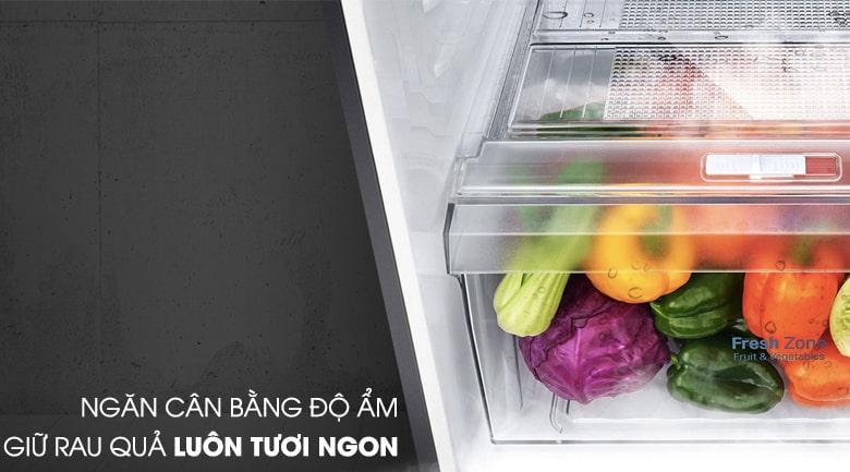 ngăn cân bằng độ ẩm giữ rau quả tươi ngon