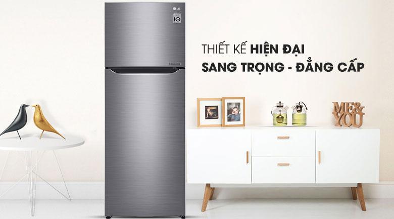 thiết kế hiện tại của Tủ lạnh LG GN-M255PS
