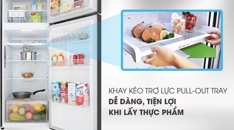 khay kéo trợ lực PULL-OUT TRAY dễ dàng,tiện lợi khi lấy thực phẩm