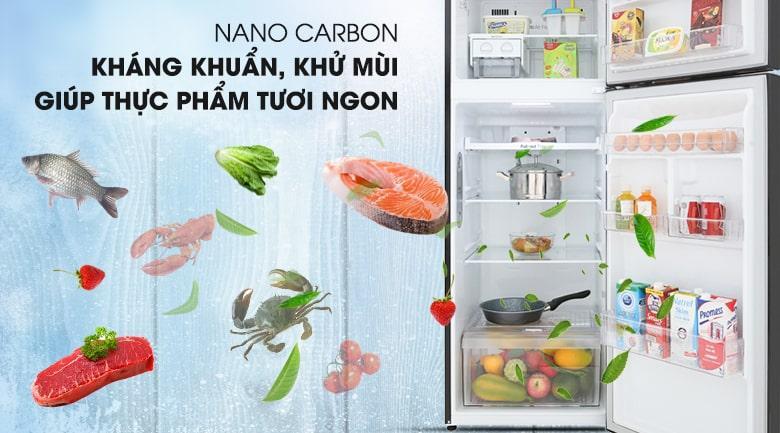 khửu mùi NANO CACBON kháng khuẩn,khử mùi giúp thực phẩm tươi ngon