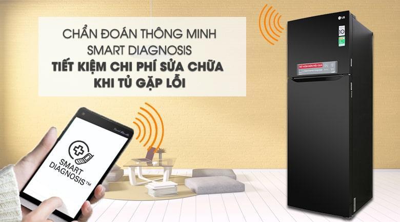 chuẩn đoán thông minh SMART DIAGNOSIS tiết kiệm chi phí sửa chữa khi tủ gặp lỗi