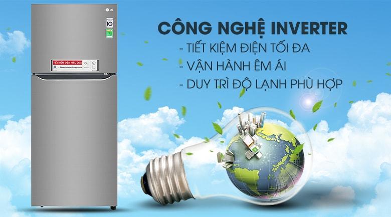 công nghệ inverter tiết kiệm điện tối đa,vận hành êm ái,duy trì dộ lạnh thích hợp