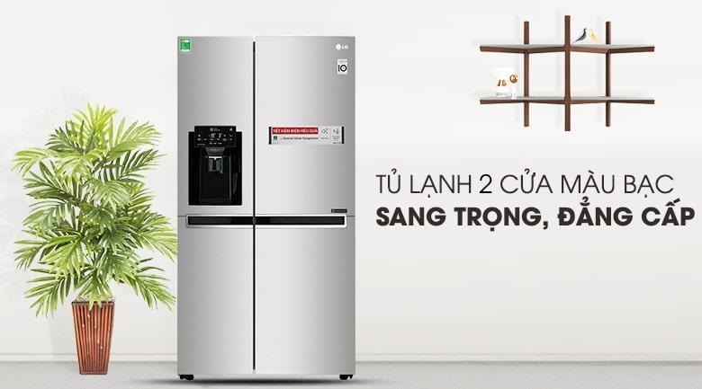 Tủ lạnh LG GR-D247JDS thiết kế sang trọng,đăng cấp