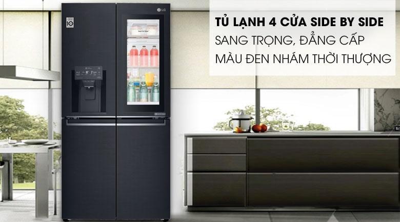 Tủ lạnh LG InstaView Door-in-Door GR-X247MC thiết kế sang trọng đẳng cấp