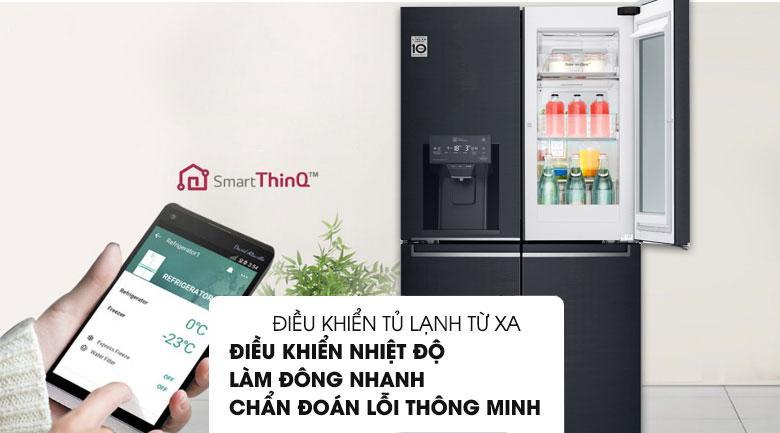 điều khiển tủ lạnh từ xa