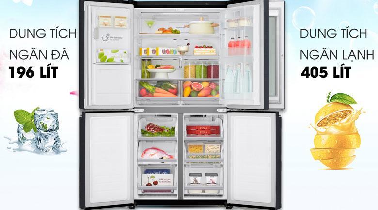 Tủ lạnh LG InstaView Door-in-Door GR-X247MC dung tích cho 5 người sử dụng