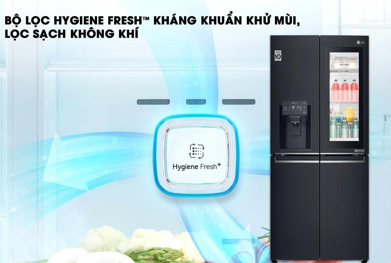 bộ lọc HYGIENE FRESH kháng khuẩn,khử mùi,lọc sạch không khí