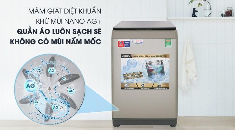 Máy giặt AQUA 9Kg AQW-W90CT N