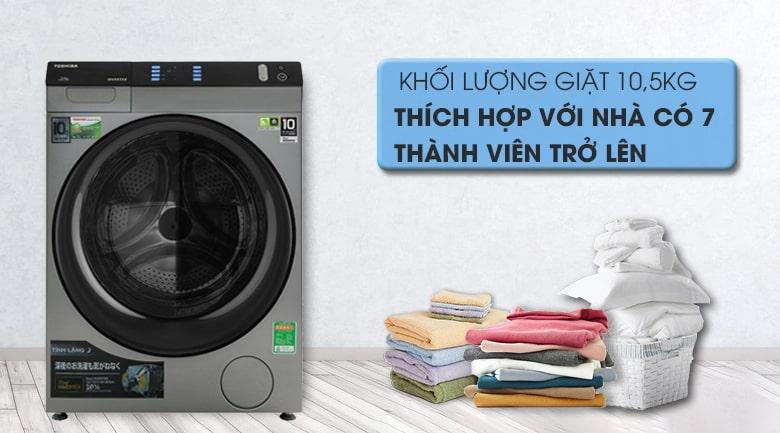 Máy giặt Toshiba 10.5Kg TW-BH115W4V SK