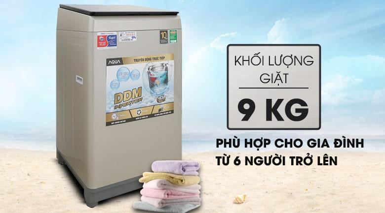 Máy giặt Aqua 9KG AQW-D90CT N