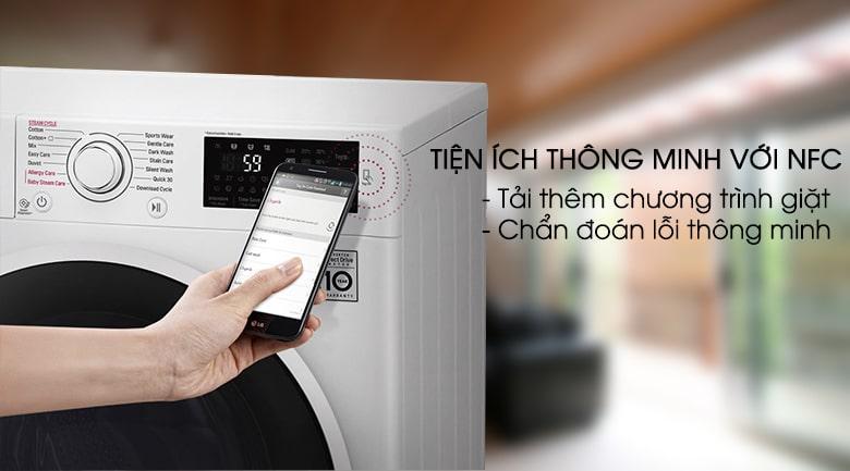 Máy giặt LG Inverter 7.5 kg FC1475N4W