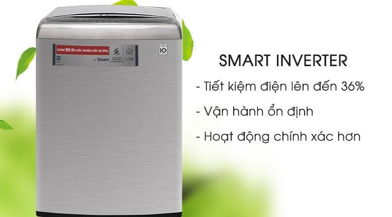 Máy giặt LG Inverter 21 kg T2721SSAV