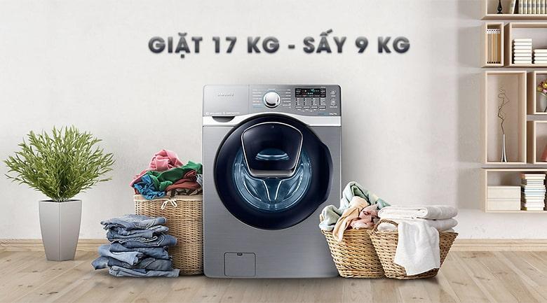 Máy giặt Samsung WD17J7825KP/SV