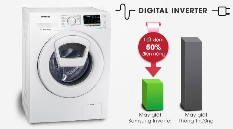 Máy giặt Samsung WW75K52E0WW/SV