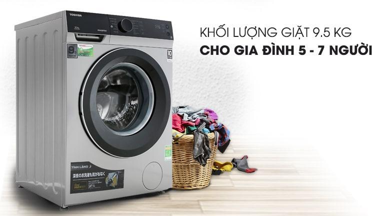máy giặt Toshiba 9.5kg TW-BH105M4V SK