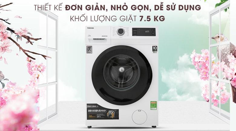 máy giặt Toshiba 7.5Kg TW-BH85S2V WK