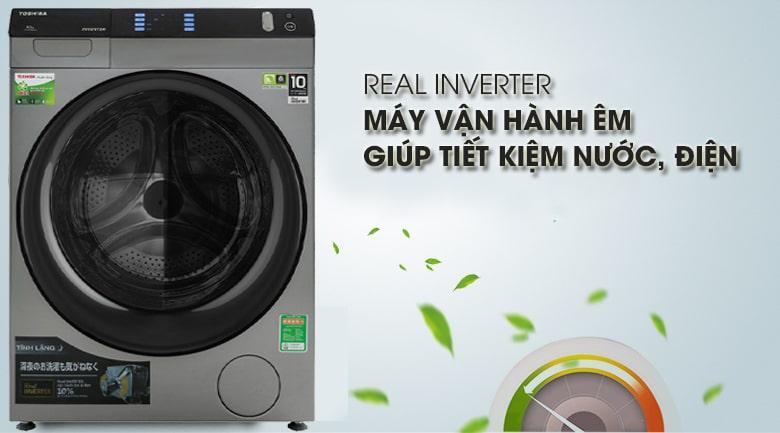 máy giặt sấy Toshiba 8Kg TWD-BH90W4V