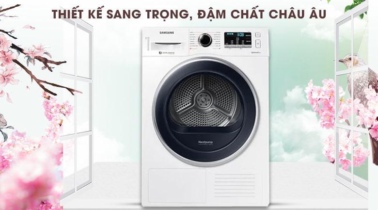 Máy sấy Samsung 9kg DV90M5200QW/SV