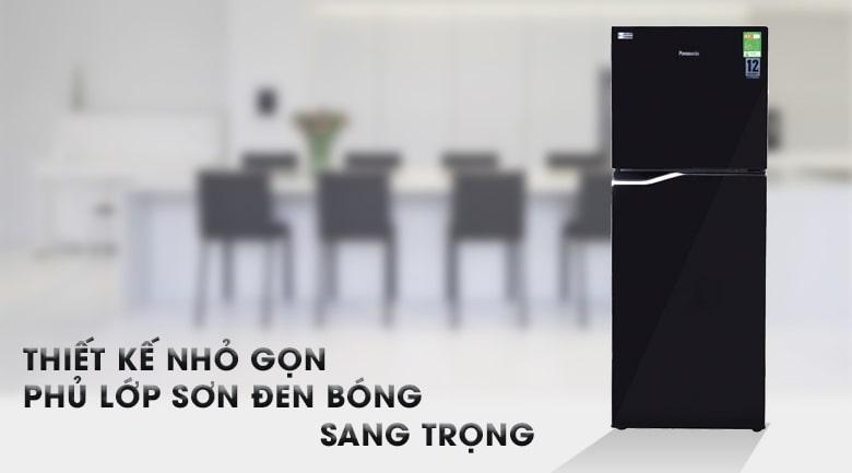 Tủ lạnh Panasonic NR-BA228PKV1 thiết kế sang trọng,nhỏ gọn