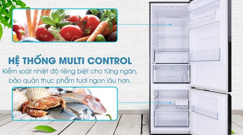 hệ thống Multi Control kiểm soát nhiệt độ
