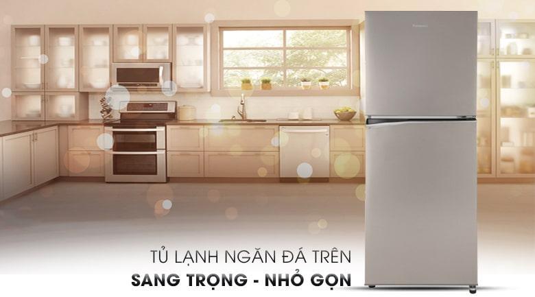 Tủ lạnh Panasonic NR-BL300PSVN thiết kế sang trọng nhỏ gọn