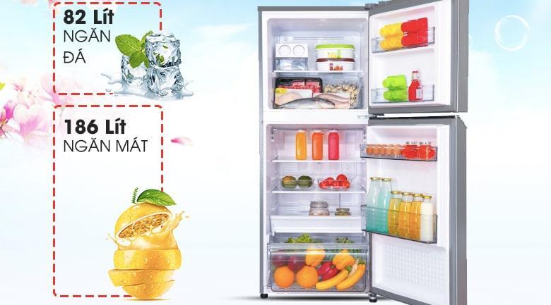 Tủ lạnh Panasonic NR-BL300PSVN dung tích 268 lít