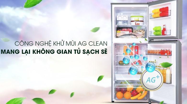 công nghệ khử mùi Ag Clean mang lại không gian tủ sạch sẽ