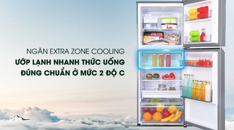 ngăn EXTRA ZONE COOLING ướp lạnh nhanh thức uống
