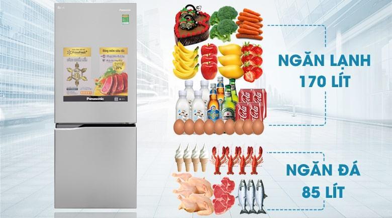 Tủ lạnh Panasonic NR-BV280QSVN dung tích 255 lít