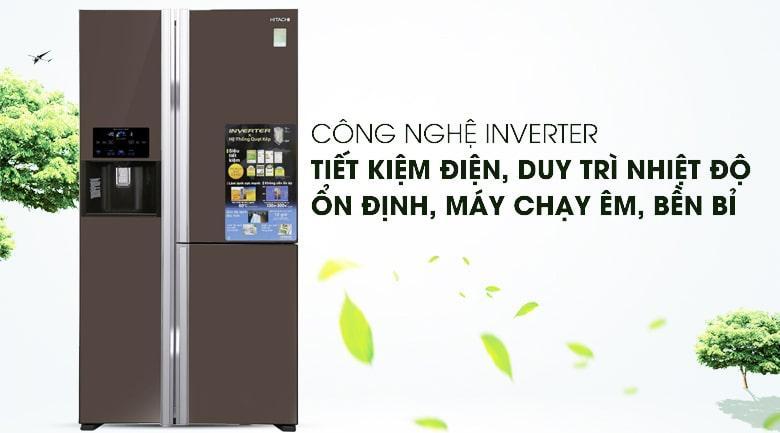 Tủ lạnh Hitachi Inverter 584 lít R-M700GPGV2X MBW