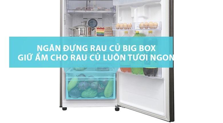 Ngăn đụng rau củ BIG BOX giữ ẩm cho rau củ tươi ngon