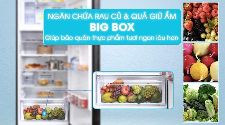 ngăn chứa rau củ và quả giữ ẩm BIG BOX