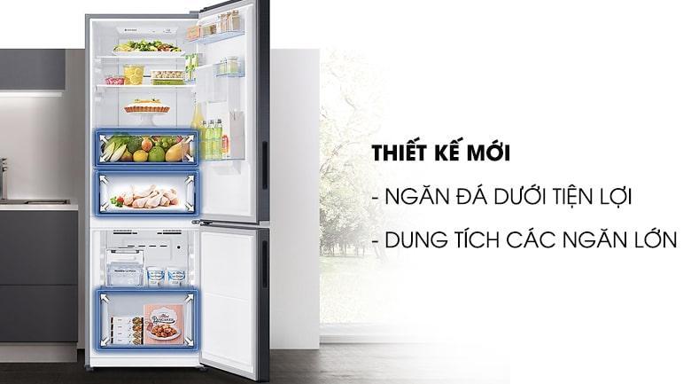 Tủ lạnh Samsung RB30N4170S8/SV thiết kế mới tiện lợi