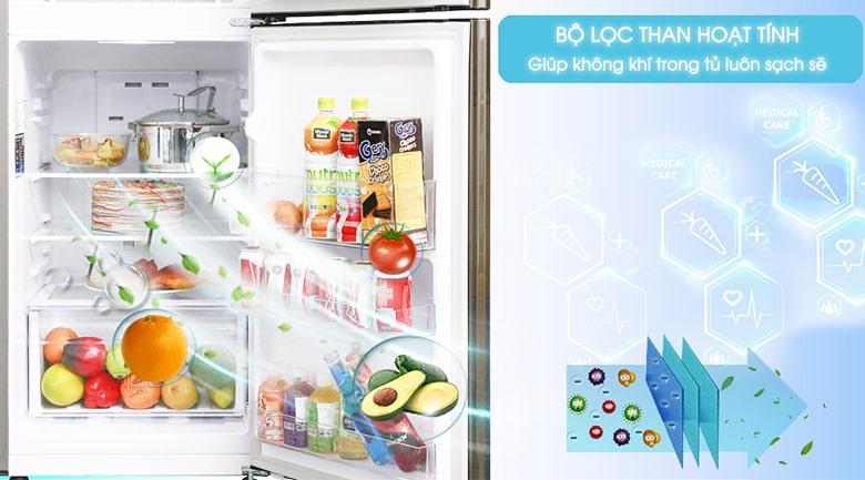 bộ lọc than hoạt tính trên Tủ lạnh Samsung RT20HAR8DDX/SV
