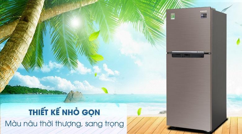 Tủ lạnh Samsung RT20HAR8DDX/SV thiết kế nhỏ gọn