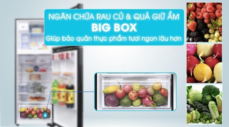 ngăn chứa rau củ quả giữ ẩm BIG BOX