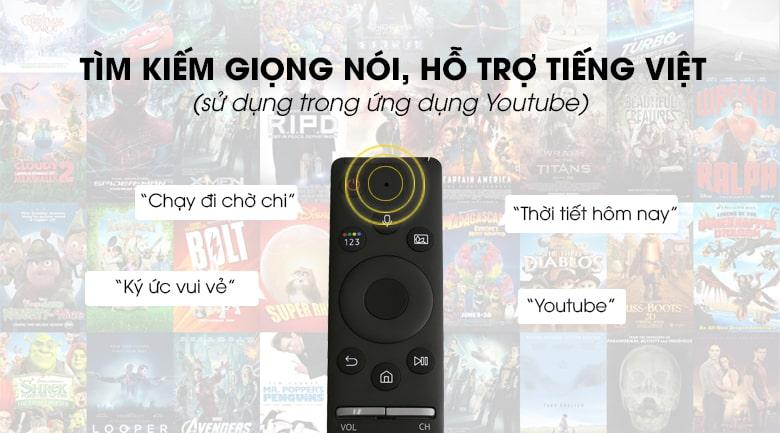 tìm kiếm giọng nói hỗ trợ Tiếng Việt