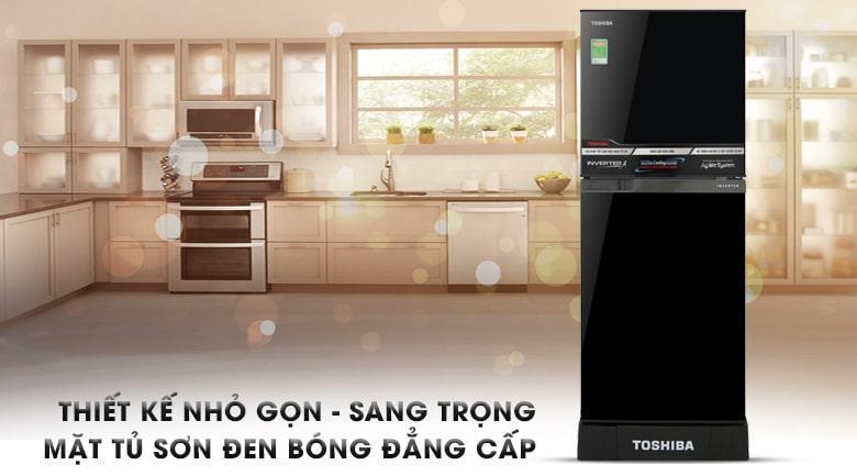 Tủ lạnh Toshiba GR-A25VM (UKG) thiết kế nhỏ gọn,sang trọng,bắt mắt