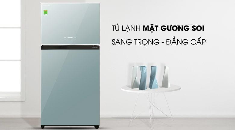 Tủ lạnh Toshiba GR-AG58VA (X) thiết kế sang trọng,đẳng cấp