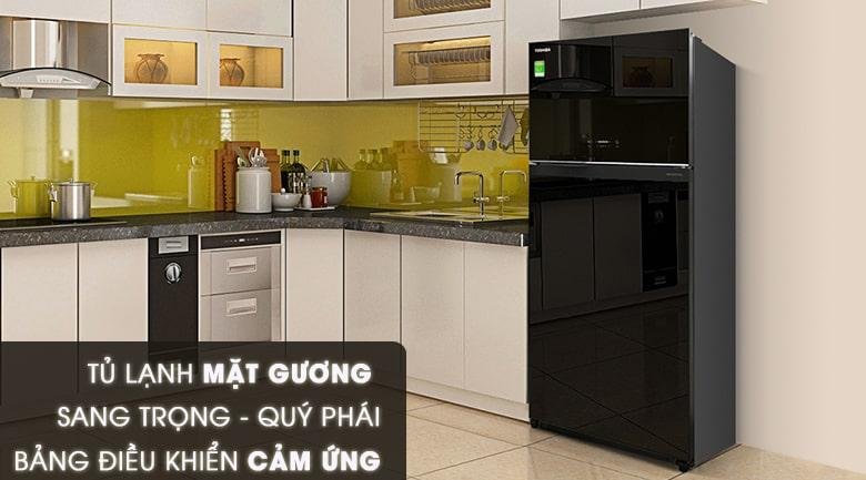 Tủ lạnh Toshiba GR-AG66VA (XK) thiết kế đẳng cấp