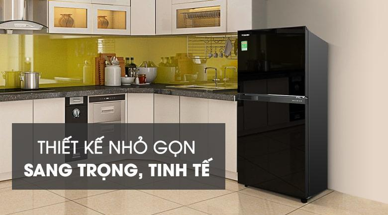Tủ lạnh Toshiba GR-B22VU UKG màu sắc thiết kế sang trọng