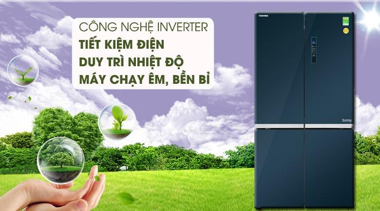 công nghệ inverter tiết kiệm điện,duy trì nhiệt độ,bền bỉ